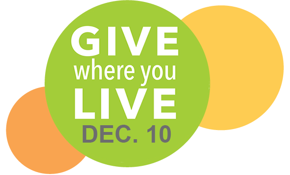 Give Where You Live - December 10th