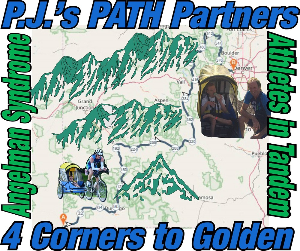 PJ Snyder and Dennis Vanderheiden's map route.